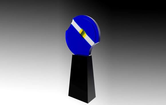 Jean Claude Farhi (1940-2012)<br/>Escultura en metacrilato