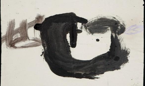 "Antoni Tàpies  (1923-2012)<br/>""Cavitat"" Año 1982"