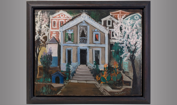 """Ismael de la Serna (1898-1968)<br/> """"Villa"""""""