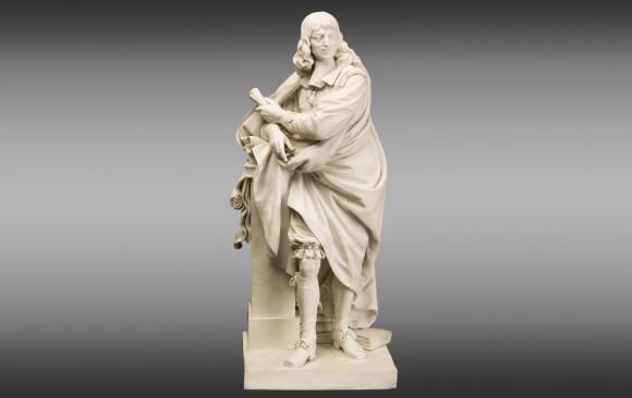 René Descartes<br/> Uno de los grandes hombres de Francia<br/>Principios del Siglo XIX