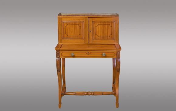 Mueble colonial Angloindio en satinwood<br/>Hacia 1840