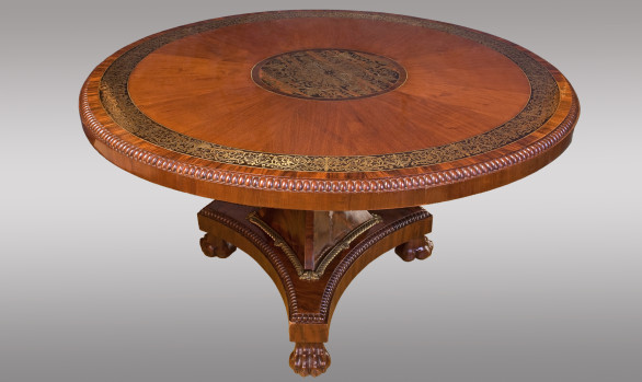 Fine Early 19th.Century <br/Regency Period <br/>Mahogahy Center Table
