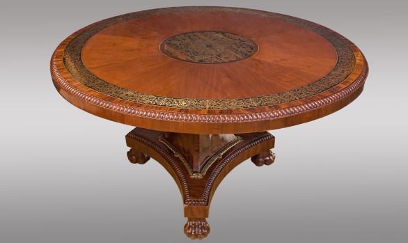 Fine Early 19th.Century <br/Regency Period <br/>Mahogahy Center Table