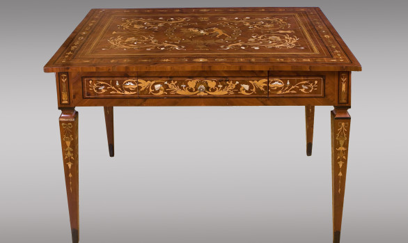 Neoclassical style Lombard  Table<br/>Circa 1800