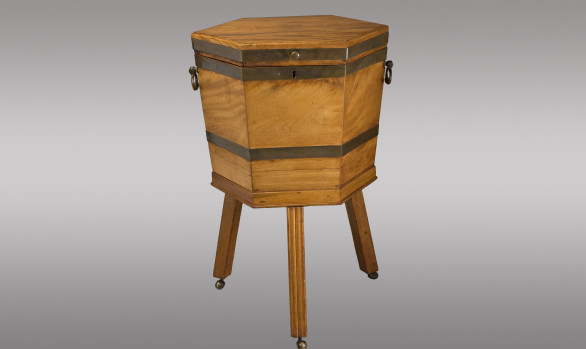 George III mahogany Wine Cooler<br/>Circa 1790