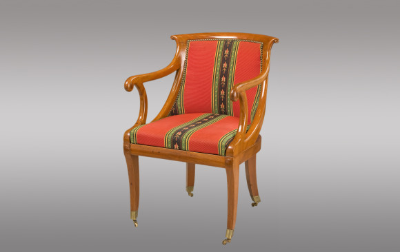 French cherry wood Armchair <br/>19th. Century
