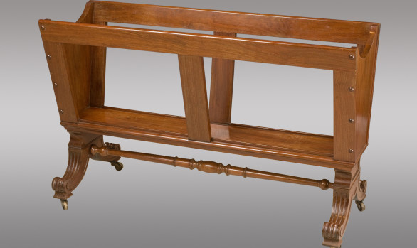 A William IV mahogany Folio Stand<br/> Circa 1840
