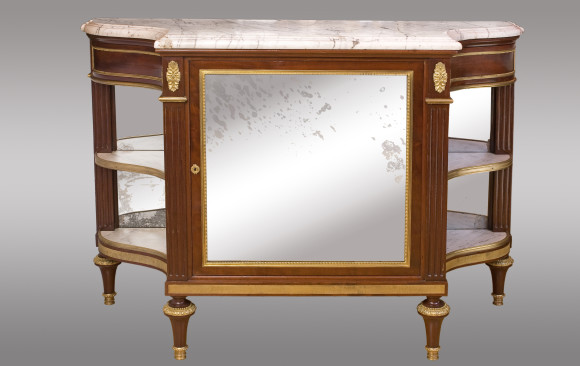 French Console-Desserte<br/>End of Louis XVI Period