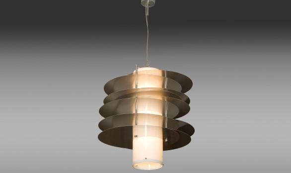 Pair of Italians ceiling Lamps