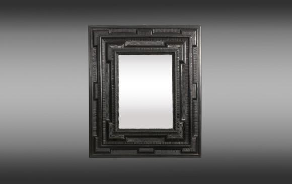 Flemish fruitwood Mirror<br/>Circa 1700