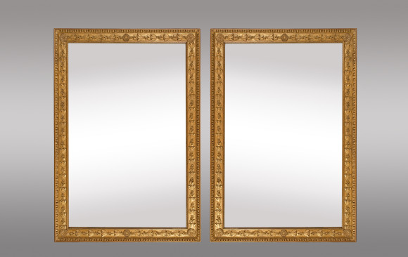 French Gilt Mirrors<br/> Early 19th. Century
