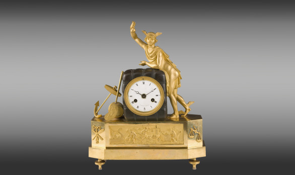 French mantel clock<br/>Directoire Period Circa 1800