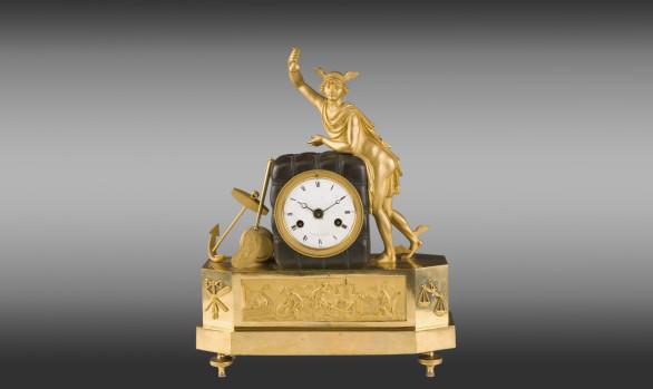 French mantel clock<br/>Directoire Period Circa 1800