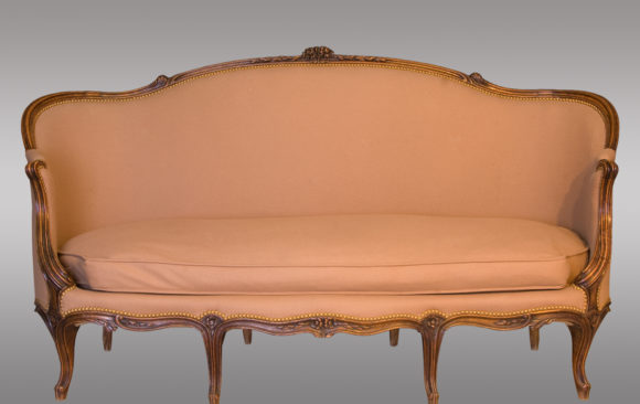 A pair of Louis XV Canapé<br/> Nineteenth Century