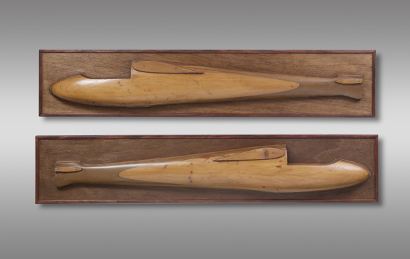 Two half Model Gliders
