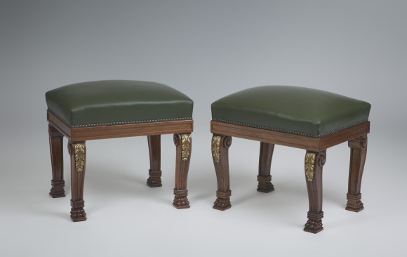 Four Banquettes<br/>William IV style <br/>Mid- Twentieth Century