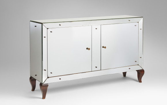 French stylized mirrored Commode<br/> About 1930