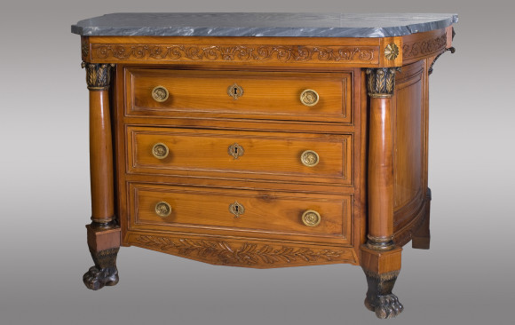 Empire French Alpine Commode<br/> Early 19th. Century
