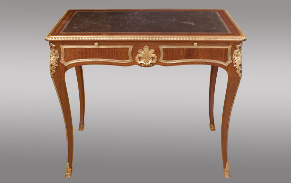 French Regency Style Desk<br/>Signed by the french cabinetmarker<br/> G. Durand <br/> 19th Century