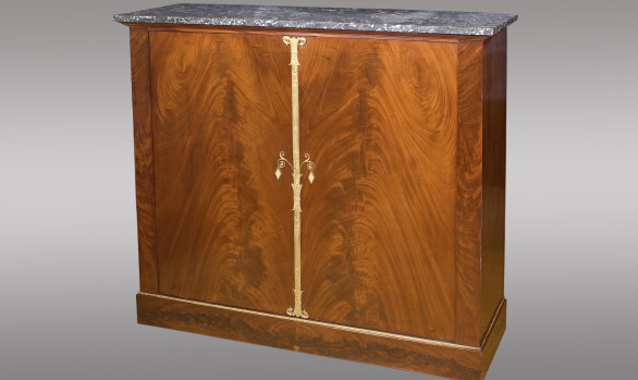A mahogany Cupboard<br/> Early 19th Century