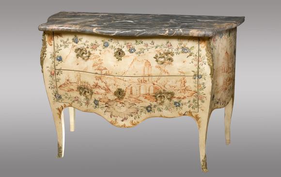 Cómoda pintada Genovesa<br/> Siglo XVIII