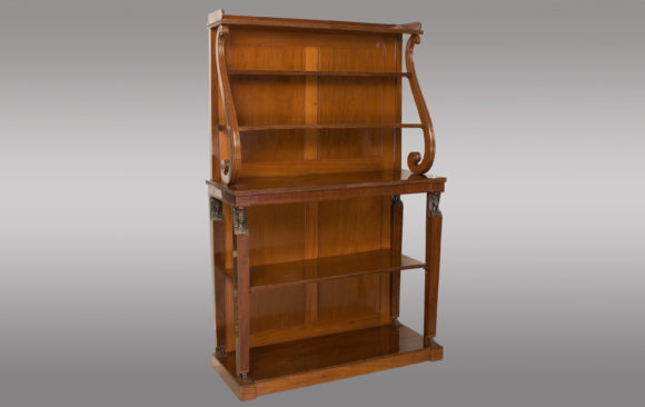 A fine quality open Bookcase<br/>Regency Period <br/> Early 19th. Century