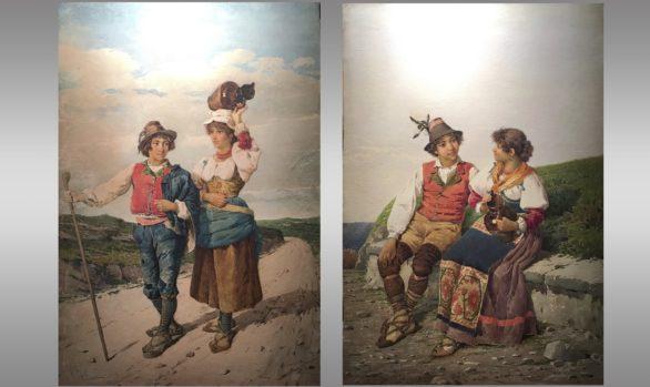 Acuarelas italianas<br/>Vicenzo Caprile (1856 - 1936)
