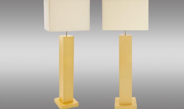 Pareja de lámparas de pie <br/> Años 70