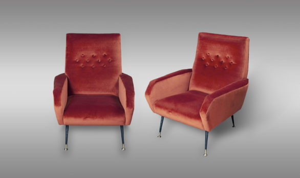 Italians Armchairs from the 50´s