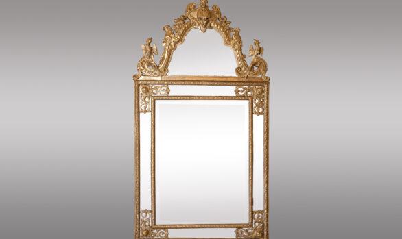 French Regence Period Mirror <br/> Eighteenth Century