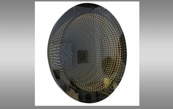 Espejo Infinito de Raphael Fenice<br/> en metacrilato, con leds y mando