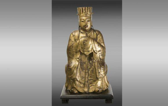 Figura de Dignatario chino<br/>  Siglo XVIII